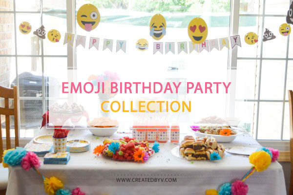 One Stop Shopping For Sensational Emoji Themed Party Supplies To Celebrate A Special Birthday
