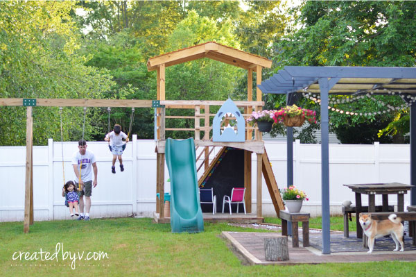 Outdoor Kids Play Set