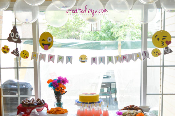Emoji Birthday Banner Sensational Themed Party Supplies To Celebrate A Special