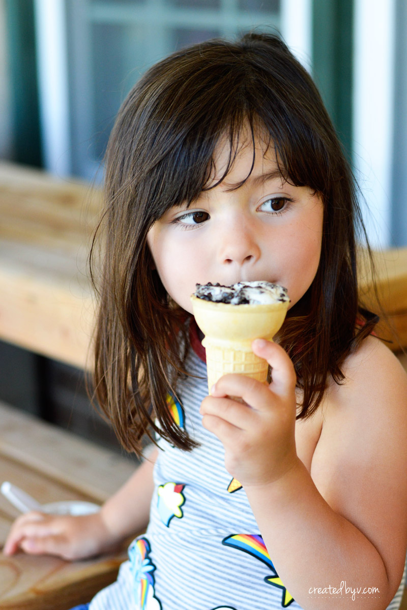 Eat Ice Cream For Daily Happiness Wall Art Created By V